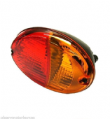 HELLA OVAL STOP TAIL & INDICATOR LIGHT WITH BULB LAMP MOTORHOME VAN